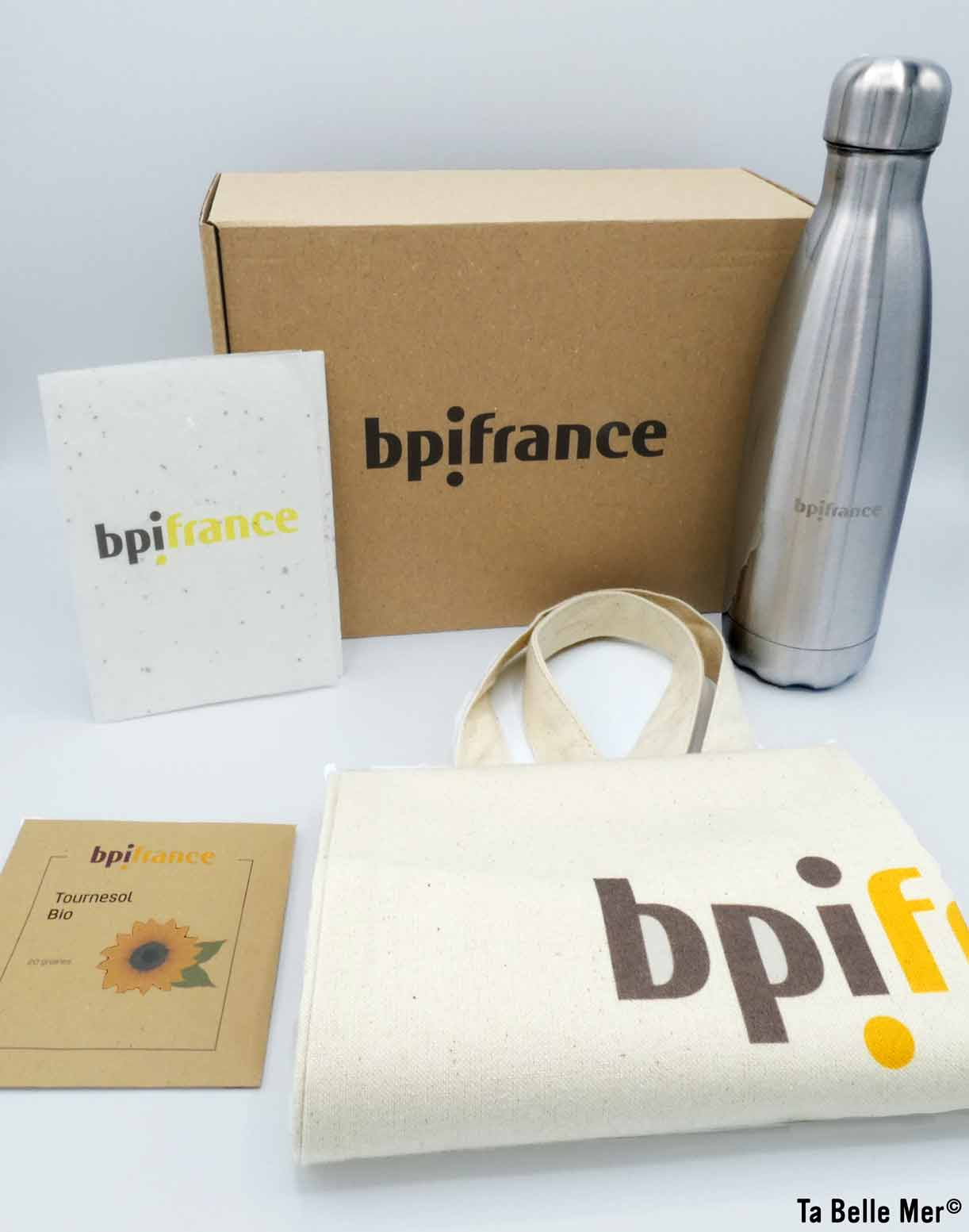 BPI welcome pack portfolio client Ta Belle Mer