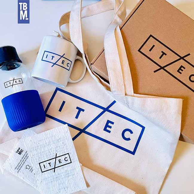 portfiolio ta belle mer cas client itec welcome pack écoresponsable made in france